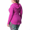 Hayley Hoodie - Rainbeau Curves, , activewear, athleisure, fitness, workout, gym, performance, womens, ladies, plus size, curvy, full figured, spandex, cotton, polyester - 3