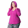 Hayley Hoodie - Rainbeau Curves, , activewear, athleisure, fitness, workout, gym, performance, womens, ladies, plus size, curvy, full figured, spandex, cotton, polyester - 2