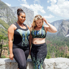 Alice Engineered Print Bra - Rainbeau Curves