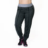 Carly Jogger - Rainbeau Curves, 14/16 / Charcoal Heather, activewear, athleisure, fitness, workout, gym, performance, womens, ladies, plus size, curvy, full figured, spandex, cotton, polyester - 1
