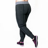 Carly Jogger - Rainbeau Curves, , activewear, athleisure, fitness, workout, gym, performance, womens, ladies, plus size, curvy, full figured, spandex, cotton, polyester - 2