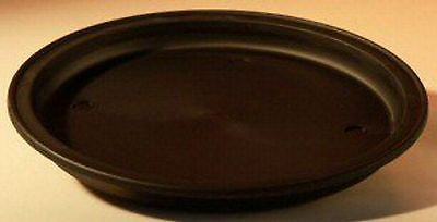 "Humidity Drip Tray for Bonsai Black - 9"" Round Plastic Drip Tray 9"" x 1"""