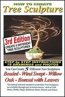 Wire Bonsai Tree Sculpture Book Create Tree Sculptures 78 drawings & pictures
