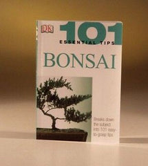 101 Essential Tips on Bonsai By Harry Tomlinson Paperback 72 pages