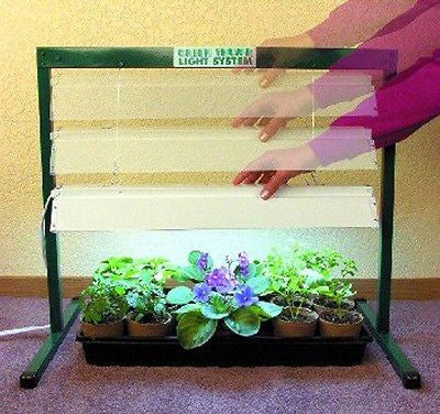 Jump Start Grow Light System - T5 high output (24 Watts) 4 Ft  31 x 18 x 50 L