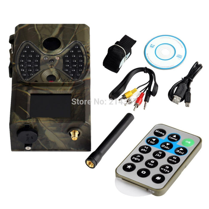 1080P HD GSM GPRS MMS Hunting Game Cameras Trap