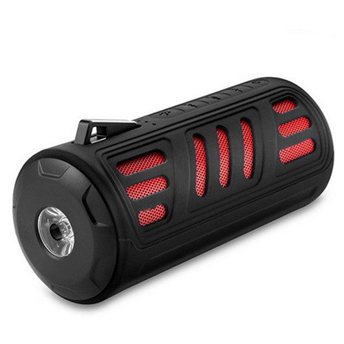 10W Waterproof Bluetooth Bicycle Speaker w/ Light & Smartphone Power Bank - ManSeeManWant