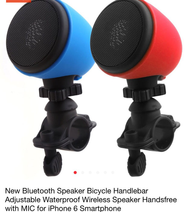 Bicycle Bluetooth Speaker - ManSeeManWant