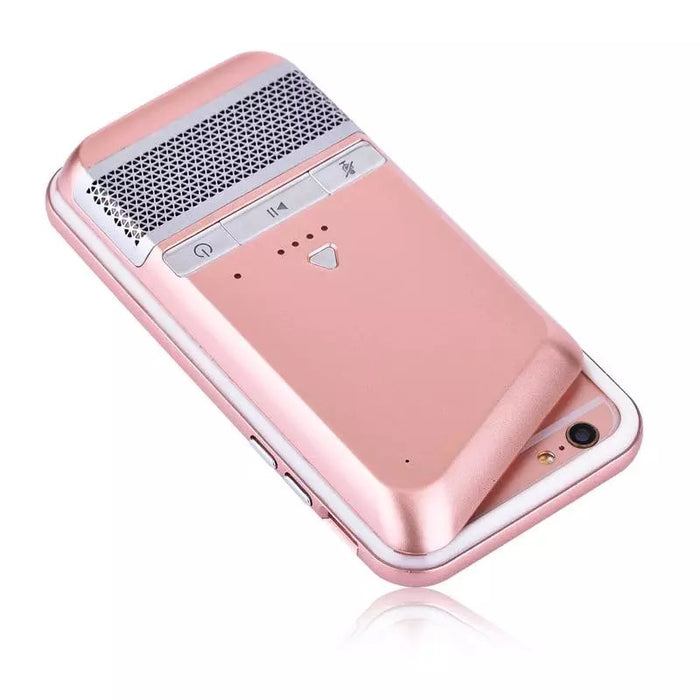 Multi-function iPhone Case Power Bank Bluetooth Speaker