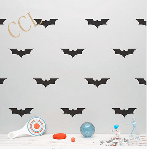 22 PCS hero Batman Removable Wall Stickers Vinyl decal Kids Decor - ManSeeManWant