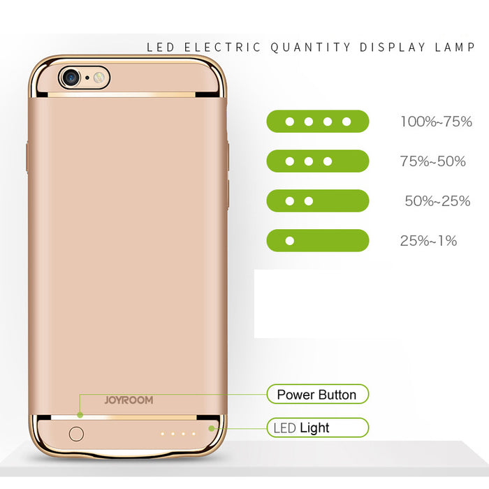 Battery Charger Case For iPhone Power Bank Ultra Thin - ManSeeManWant