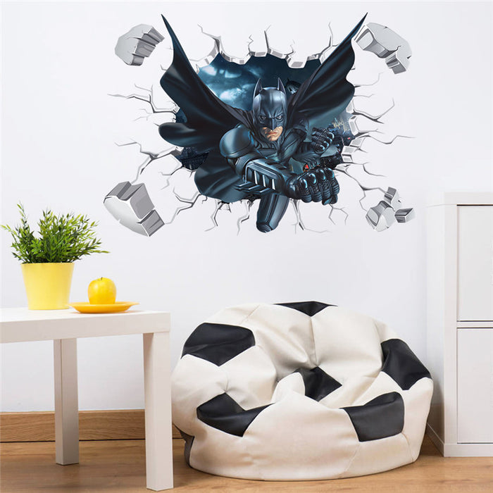 3d Batman Wall Sticker For Kids Wall - ManSeeManWant