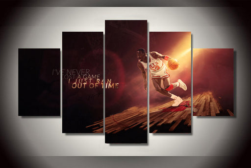 5 Panel Jordan Canvas Decor Print - ManSeeManWant