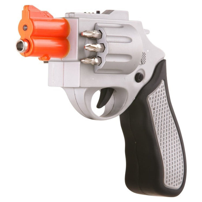 Rechargeable screwdriver looks like a revolver - ManSeeManWant