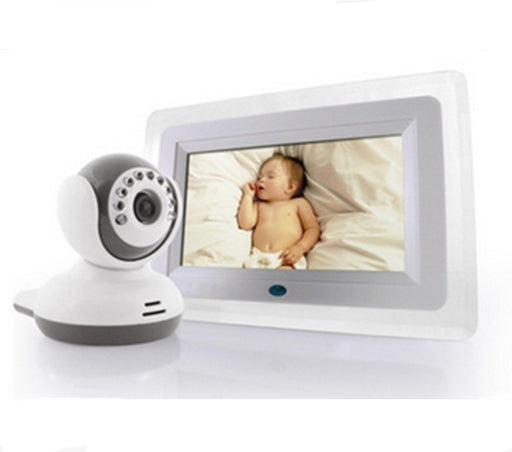 7 Inch Screen  Wireless 2.4Ghz Baby Monitor - ManSeeManWant