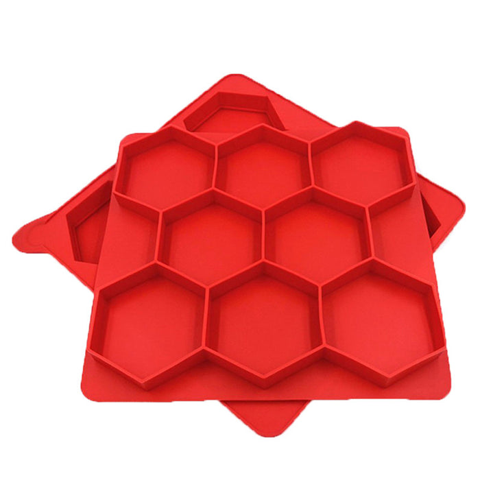 8 Grids Hexagon Hamburger Mold Burger Press  Kitchen Accessories