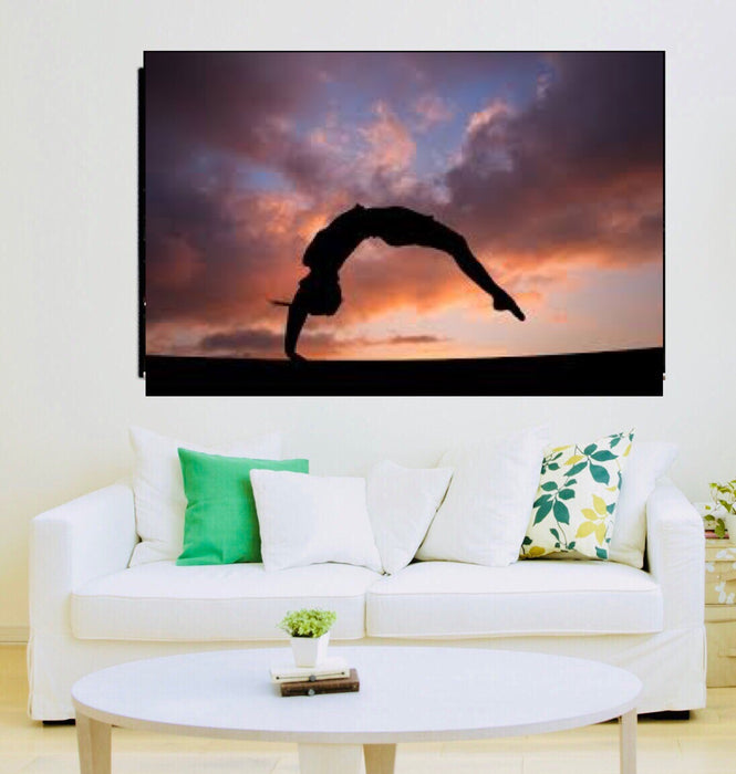 Gymnastics Canvas Wall Art Sport Canvas - ManSeeManWant