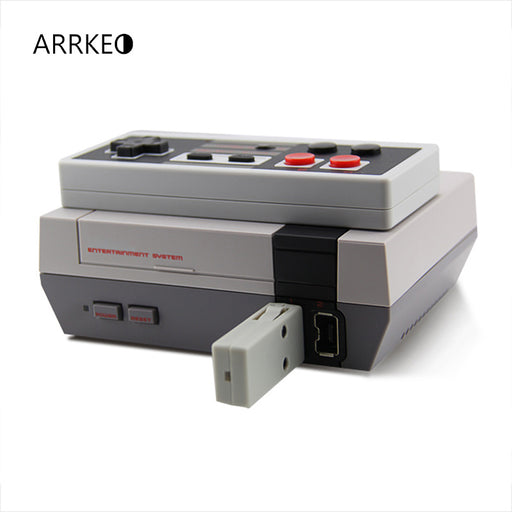 Retro Rechargeable Wireless Controller For NES Classic Edition Console - ManSeeManWant
