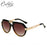 CALIFIT Metal Leg Vintage Pilot Sunglasses Men - ManSeeManWant