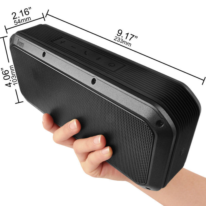 Divoom Voombox Party 2ND Bluetooth speaker portable outdoor music box with 30w output and  6000 mAh charger - ManSeeManWant