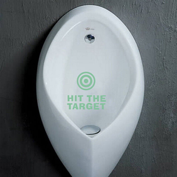 Diy  Toilet Glow in the Dark Sticker Hit The Target Home Decor - ManSeeManWant