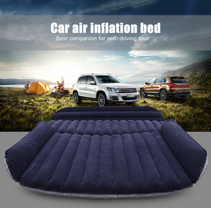 Car SUV Air Mattress Back Seat Inflatable Bed with Air Pump - ManSeeManWant