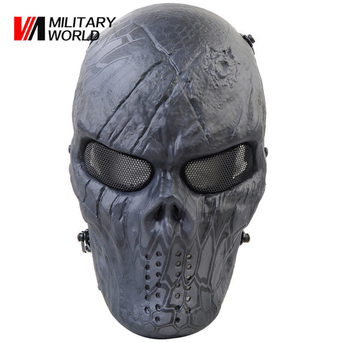 Full Face Mask Mesh Eye Protector Paintball Accessories for Outdoor - ManSeeManWant