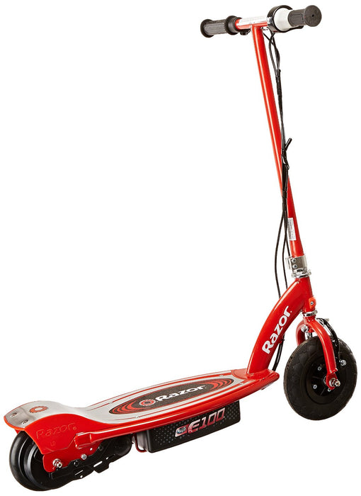 Razor E100 Motorized 24 Volt Electric Powered Ride-On Scooter - ManSeeManWant