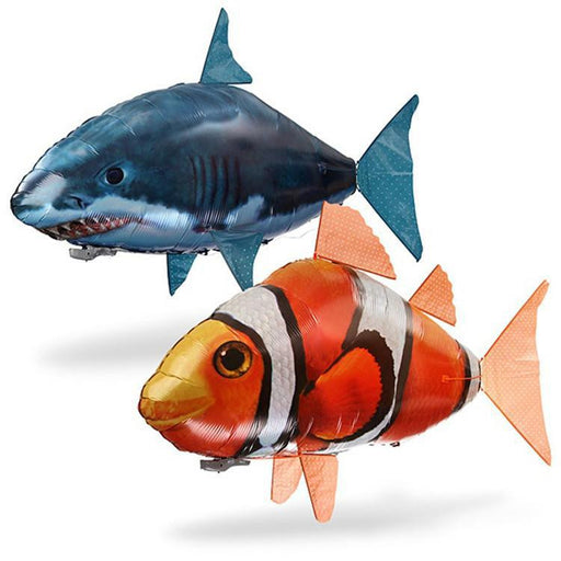 Air Swimmer Flying Remote Control Inflatable Fish Shark  Kids - ManSeeManWant