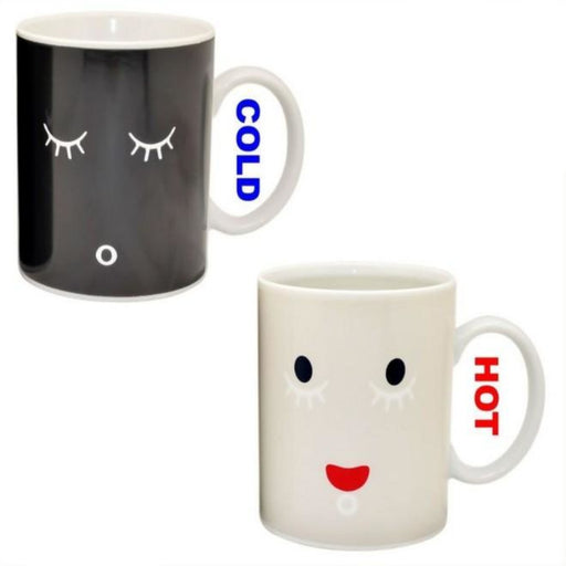 Morning Mug Magic Color Change Cup Ceramic Coffee Mug