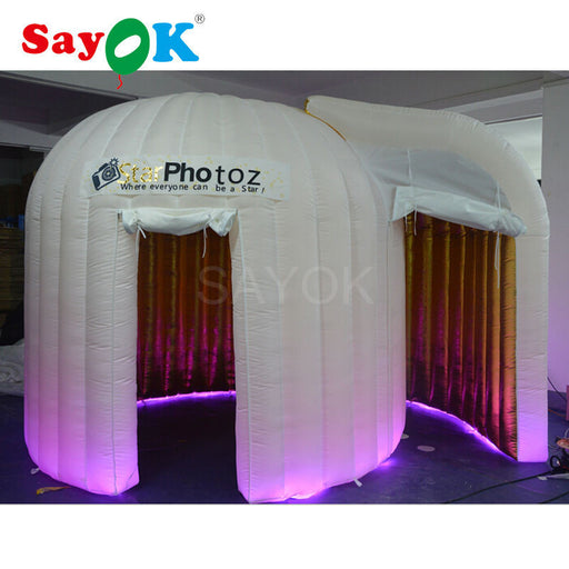 Inflatable photo booth with 2 doors - ManSeeManWant