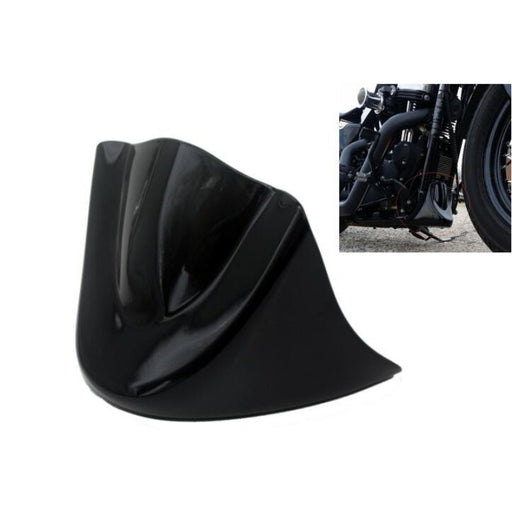 Gloss Black Motorcycle Lower Front Chin Spoiler Fairing Harley 06-Up Dyna Models - ManSeeManWant