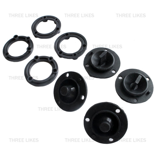 Hoverboard Sensor Rubber Silicone 4 Pcs Kit Replacement 6.5/8/10 Inch