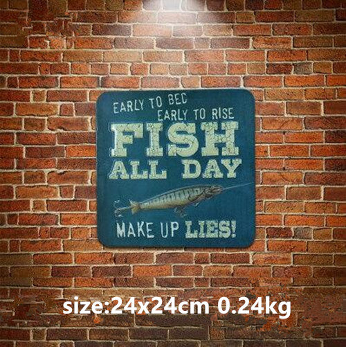AMERICAN STYLE Vintage Tin Sign ManCave - ManSeeManWant