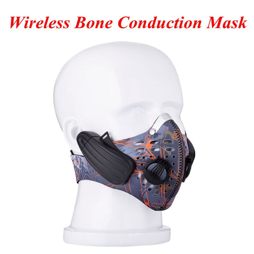 LEAD-OUT Bluetooth wireless earphones bone conduction headphone mask - ManSeeManWant