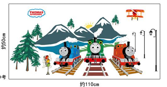 ... Luminous Wall Stickers Thomas And Friends Train Decals Kids Rooms ...