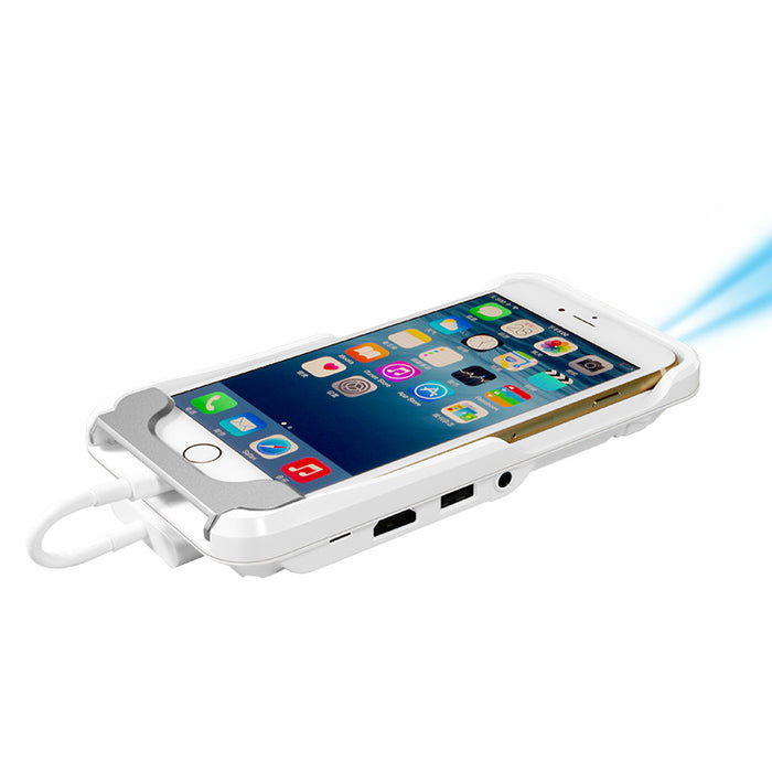 Micro Wifi Pocket Smartphone Projector Bluetooth IPhone 6 or 7 IOS