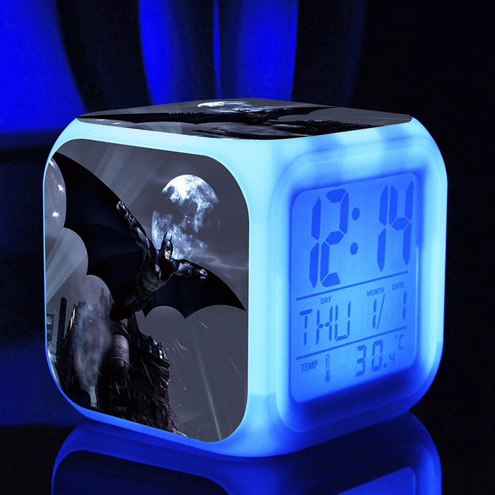 Digital Alarm light glow Hero batman light Night Light - ManSeeManWant