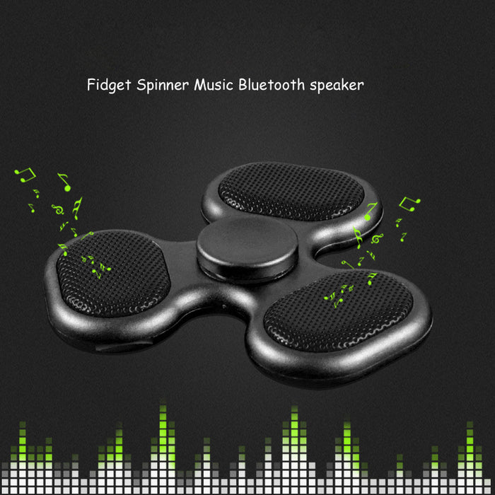 Fidget Spinner Bluetooth Speaker Music - ManSeeManWant