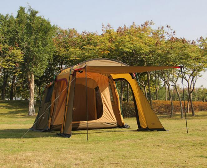 ... Outdoor 5-8 Persons Car Travel Tent For C&ing Awning ... & Outdoor 5-8 Persons Car Travel Tent For Camping Awning - ManSeeManWant