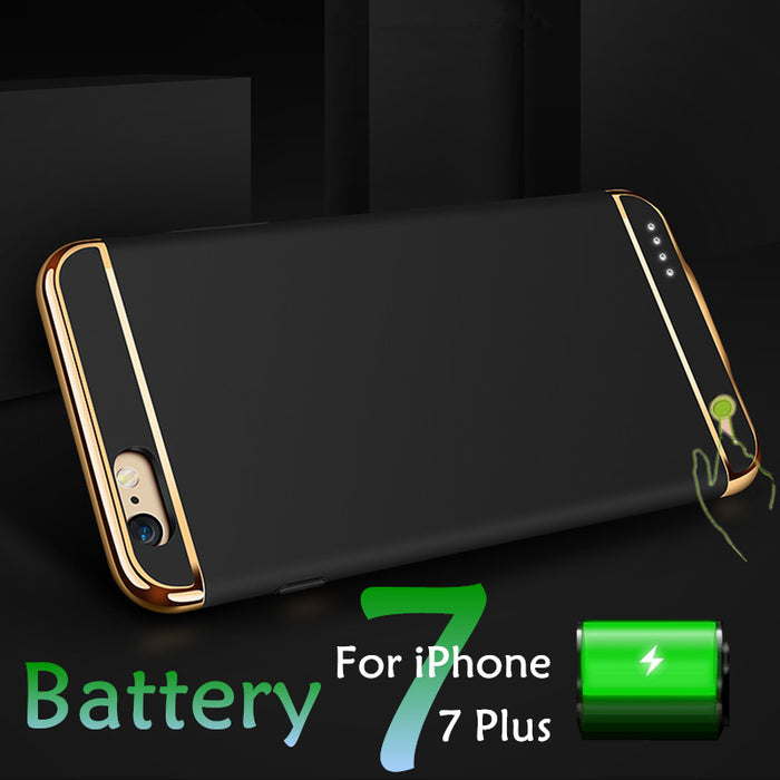 External Battery Case For iPhone 7 7 Plus 6S Plus - ManSeeManWant
