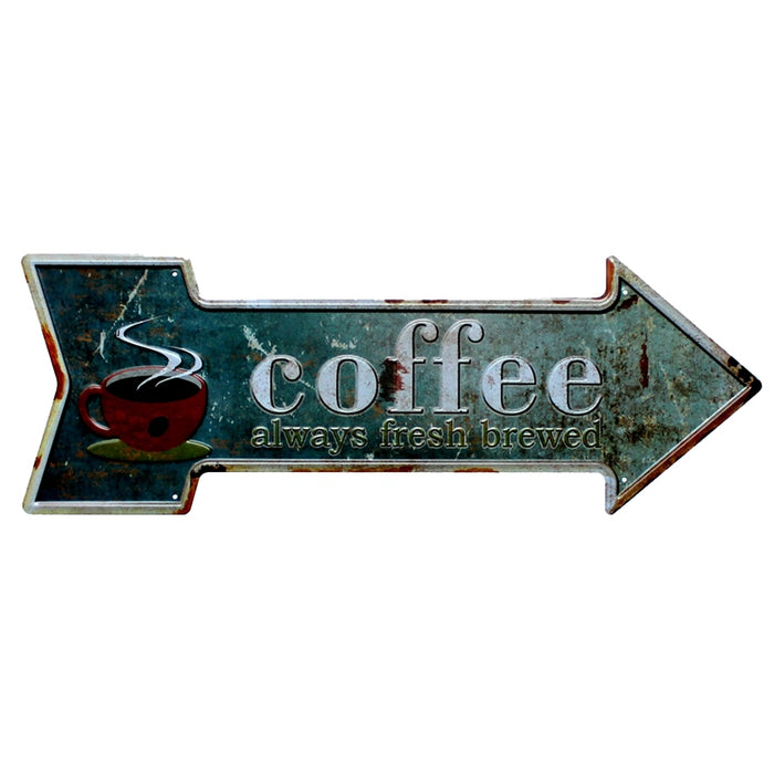 Arrow Metal Irregular Tin Signs   Art Decor Mancave, Garage - ManSeeManWant