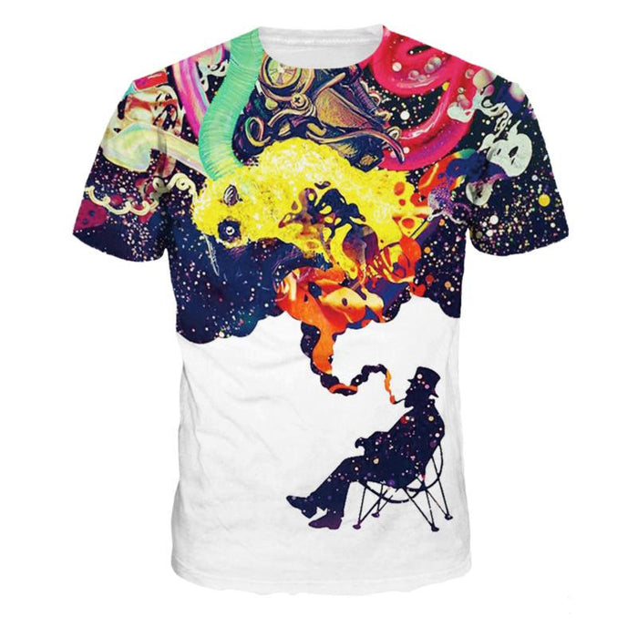 3D Print Top Women Men Awesome Funny T-Shirt  1