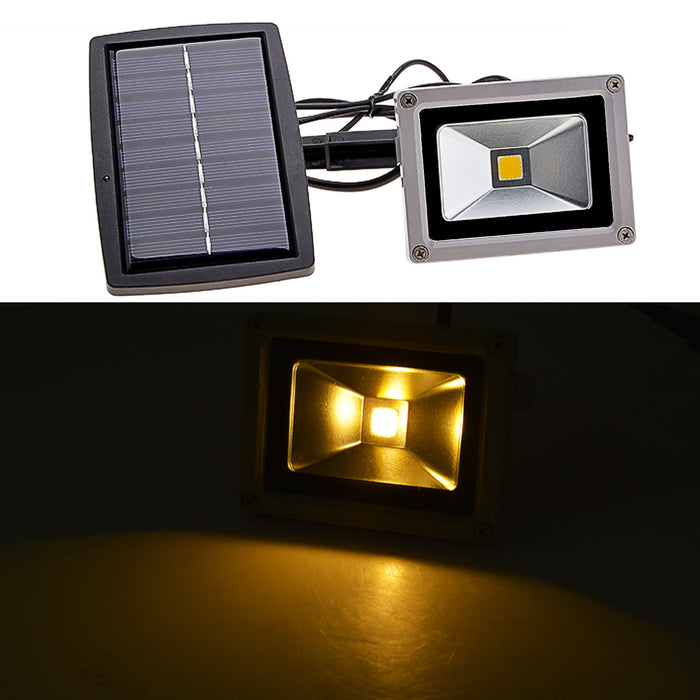 Solar Power LED FloodLight 10W Reflector Led Flood Light Tool - ManSeeManWant