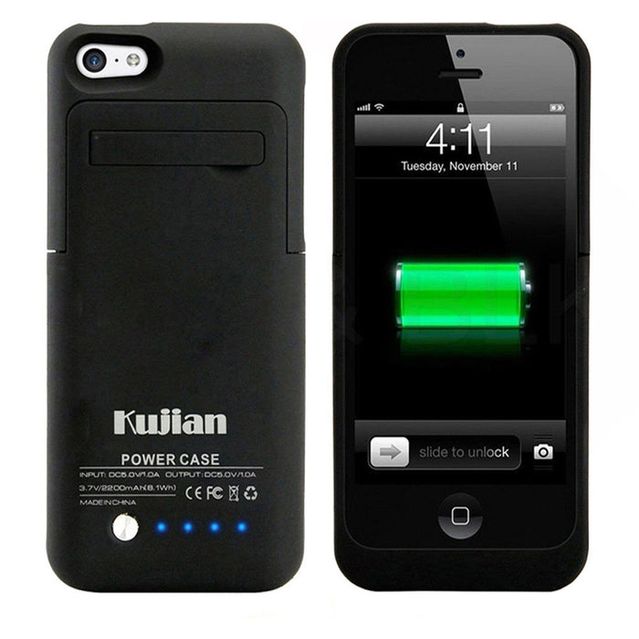 Slim Power Bank Charger Case iPhone 5 backup battery case - ManSeeManWant