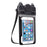 6 inch IP68 Waterproof Phone Case Pouch Bluetooth Speaker Camera - ManSeeManWant
