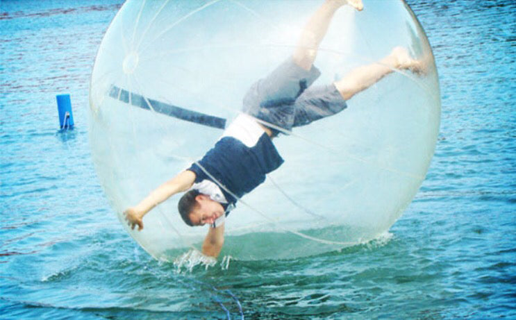 Inflatable human hamster water ball - ManSeeManWant