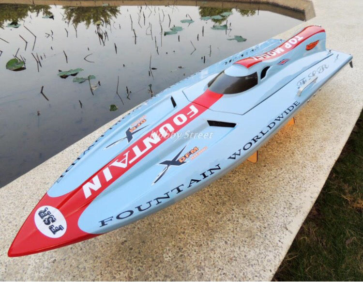 R/C Gas Powered Jet Boat Water - ManSeeManWant