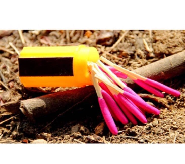 Windproof Waterproof Camping Fire Matches Emergency Tool Survival - ManSeeManWant