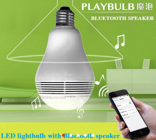 Bluetooth Lightbulb Speaker - ManSeeManWant